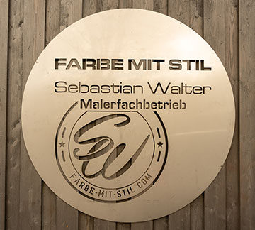 Logo Farbe mit Stil