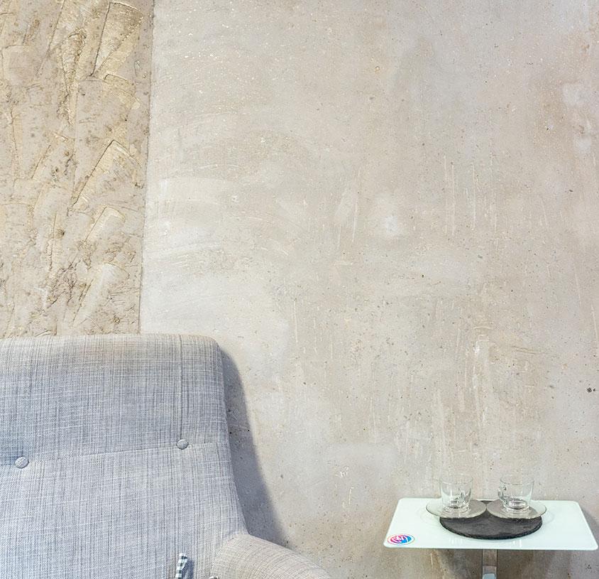 Wandgestaltung mit Terrastone